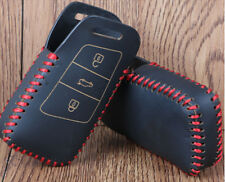 Leather car key cover case holder for Volkswagen VW Magotan Passat B8