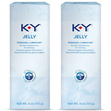 K-Y Jelly 4 Oz Single Tube Personal Lubricant