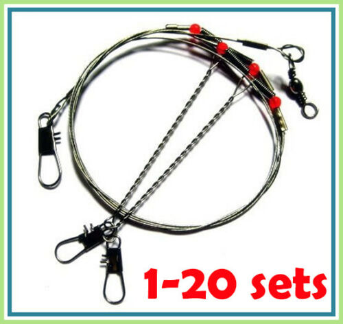 2 Boom Pier or Boat. Stainless Steel Paternoster Fishing Rigs Beach