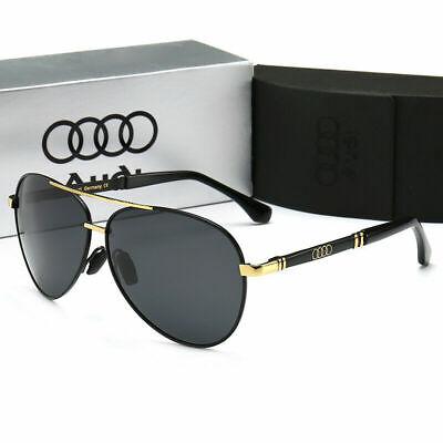 2019 New Audi Brand Men's Sunglasses Polarized Classic 100%UV400 With Brand Box | eBay