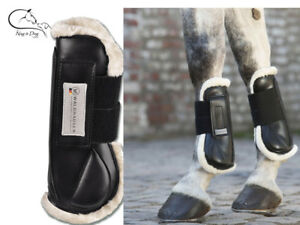 Waldhausen-Faux-Fleece-Tendon-amp-Fetlock-Boots-Horse-Shock-Absorb-Protection