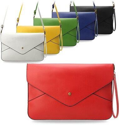 geräumige Damentasche kleine Aktentasche A4 Format Handtasche Handgelenktasche !