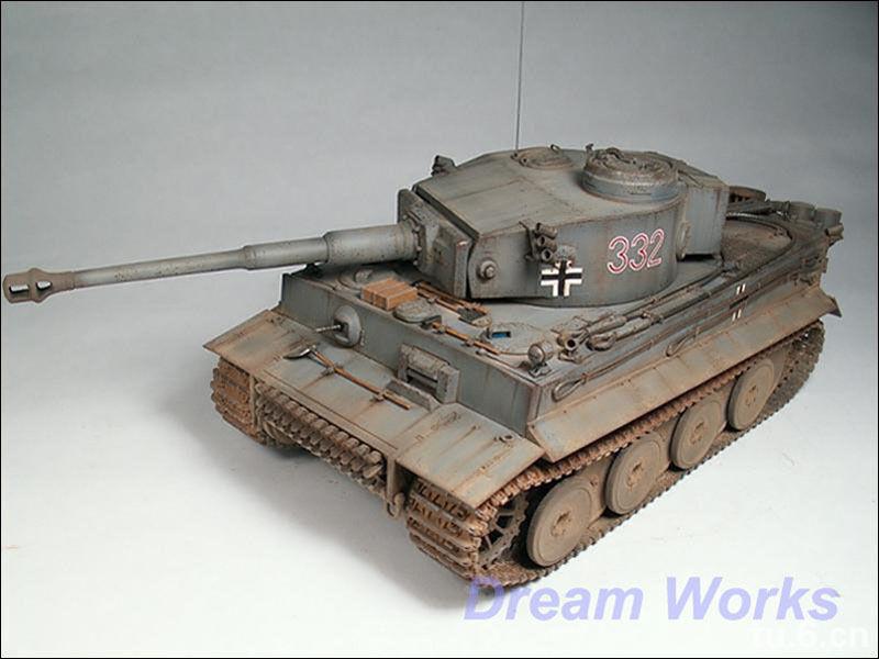 Award Winner Built Tamiya 1 35 German Panzerkampfwagen VI Tiger I +PE