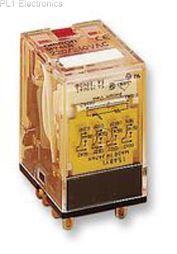 24Vac OMRON/' automazione industriale-MY4IN 24acs-Relay 4pco