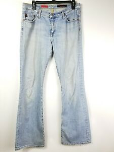 AG-Adriano-Goldschmied-Women-Sz-30-The-Angel-Jeans-Boot-Cut-Cotton-Denim-Pants