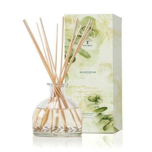 Thymes Eucalyptus Aromatic Diffuser larger 7 fl oz v. 6.5 ! NEW in the Box