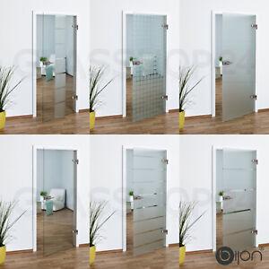 Gut gemocht Glastür Studio / Office in 58,4 - 70,9 - 83,4 oder 95,9 cm Glas NF07