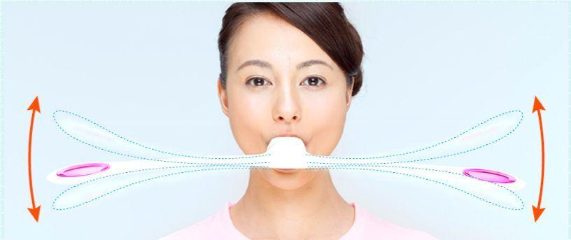 MTG Facial Fitness Pao blancoo músculos faciales entrenamiento sonrisa FF-PO1858F-W Nuevo