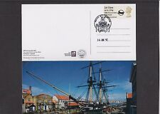 GB 2017  Post & Go Union Flag HMS Trincomalee 200 Years single 1st FDC ship p/c