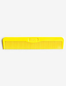 Byrd-Pocket-Styling-Comb-Yellow-Durable-Comfortable-Flexible-All-Hair-Types