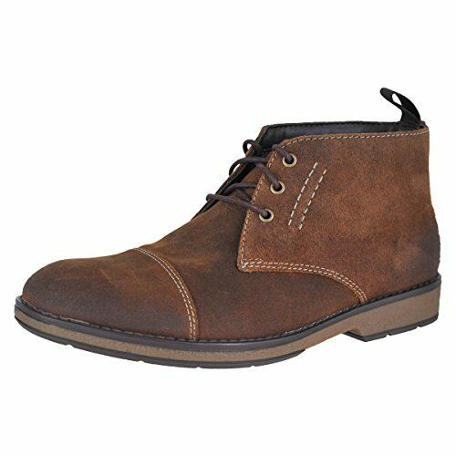 Clarks CLARKS Mens Hinman Mid Chukka Boot- Select SZ color.