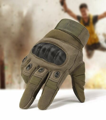 Work Gloves Full Finger Military Army Paintball Airsoft Shooting Driving Men New