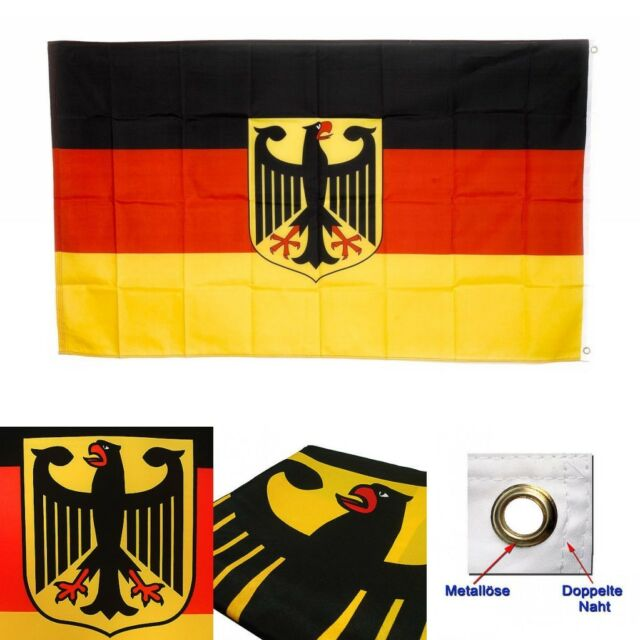 3x5ft old germany flag with eagle german banner deutschland indoor