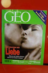 GEO-Das-neue-Bild-der-Erde-Nummer-1-1997-Die-Evolution-der-Liebe