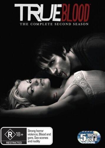1 of 1 - True Blood : Season 2 (DVD, 2010, 5-Disc Set)NEW & SEALED + FREE PRIORITY POST