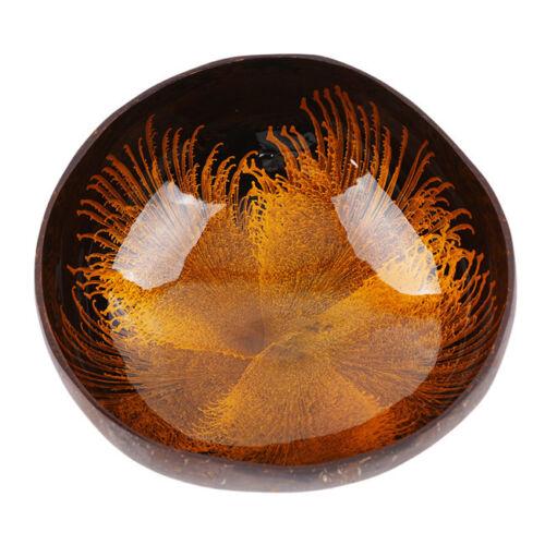 Coconut Shell Bowl Desktop Key Storage Home Decorative Bowls Table Supplies 8C