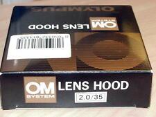 OLYMPUS OM ZUIKO 35mm F2 55mm F1.2 28-48mm F4 35-70 F4 AF METAL LENS HOOD NEW