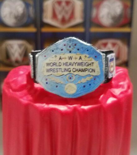Mattel Elite WWE AWA World Custom Title