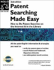 Patent Searching Made Easy : How to Do Patent Searches on the Internet and in t…