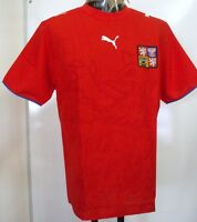 Czech Republic 2006/08 S/s Home Shirt By Puma Size Adults Xl Brand With Tags