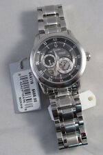 MENS BULOVA 96A119 BVA SERIES AUTOMATIC MECHANICAL SKELETON WRIST WATCH ~NIB