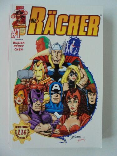 2001-2002 Top Zustand 1 Panini Comics DIE RÄCHER Prestige Nr