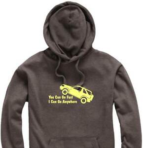 Unisex-Hoody-Hoodie-Land-Rover-Freelander-034-You-Can-Go-Fast-034-Logo