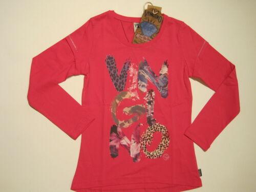 45/% 176 NEUF Vingino girl shirt vingino kaelee pink taille 116