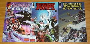 Snowman-1944-1-3-VF-NM-complete-series-matt-martin-entity-comics-horror-set