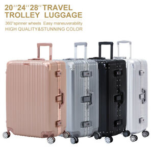 16-20-24-28-034-Luggage-Travel-Set-with-4-Wheels-Bag-Trolley-Case-Carry-On-Suitcase