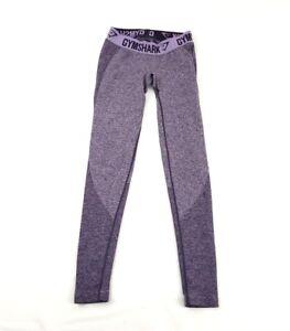 de1bca3c4de383 Image is loading Gymshark-Rich-Purple-Marl-Pastel-Lilac-Flex-Leggings-