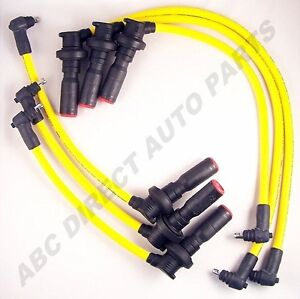 Supra-87-92-10mm-Yellow-High-Performance-Spark-Plug-Ignition-Wire-Set-28128Y