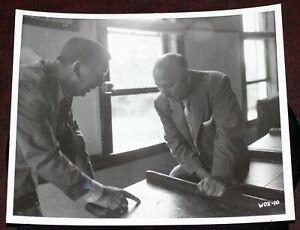 Walt Disney July 1956 Visit to Marceline PHOTO Initials on 2nd Grade School Desk