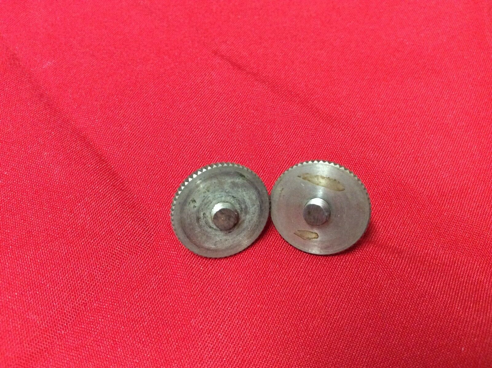 VINTAGE 1961 USA GRETSCH GUITAR  BRIDGE WHEELS STUDS ROCKING BAR NICKEL 1962