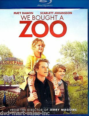 We Bought a Zoo  (Blu-ray 2012)  Brand New