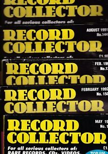 Various-Issues-of-RECORD-COLLECTOR-Magazine-from-February-1991-to-May-1999
