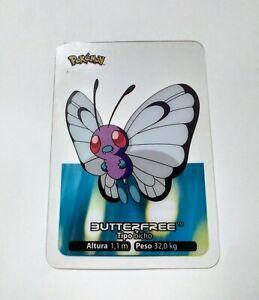012-Butterfree-POKEMON-Lamincards-Collection-2005-EDIBAS-Espanol