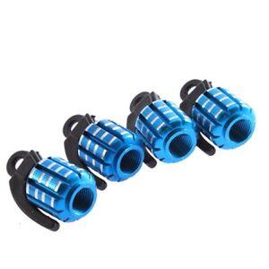 Shaped-Blue-Mini-Car-Tire-Tyre-Valve-Cap-Cover-FP