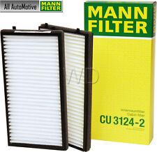 Mann Filter CU 2736-2 Innenraumluft BMW 5 E39 Innenraumfilter Pollenfilter