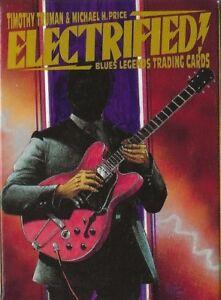 ELECTRIFIED! BLUES LEGENDS OF THE ELECTRIC ERA 36-CARD SET MUDDY T-BONE WILLIE D