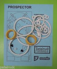 1977 Sonic Prospector pinball rubber ring kit
