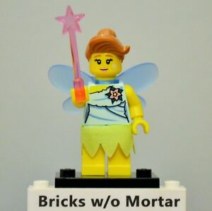 New-Genuine-LEGO-Fairy-Minifig-with-Wand-Series-8-8833