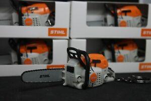 Stihl-Saw-KeyRing-KeyChain-With-Saw-Work-Sound-New-Model-04209600003-HQ