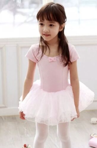Ballet Dance Starter Set Tutu Dress Leotard//Tights//Shoes Pink UK