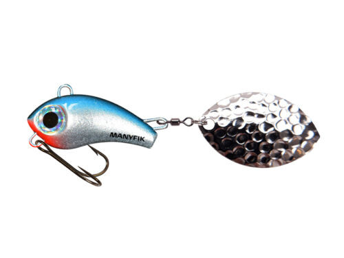 Manyfik Bubu OL 10 10g 27mm Tail spinner Sinking lure Trout Pike Perch