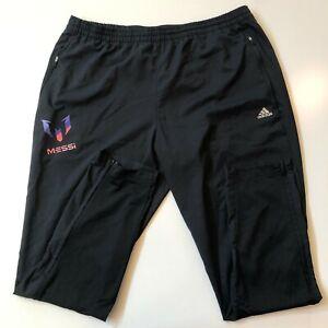Adidas Pantalones Deportivos Para Hombre Xl Negro Messi Futbol Ebay