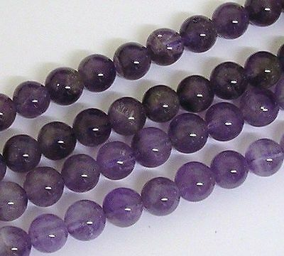 16 Inch Semi Precious Gemstone 8mm Round Beads Approx 50 Beads