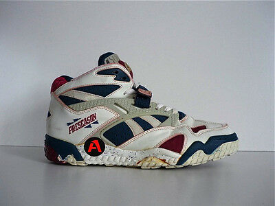 524bc21c16ee65 90`S VINTAGE REEBOK THE PUMP PRESEASON BASKETBALL HI TOPS SHOES 80`S SHAQ
