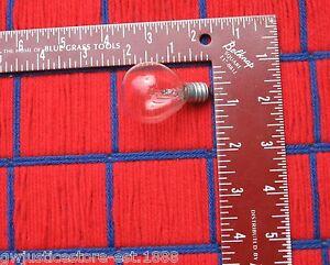 Box of 6 GE 15W 120v S11 MEDICAL SPOTLIGHT Bulb 15 watt E12 base 15S11//c ~ NEW