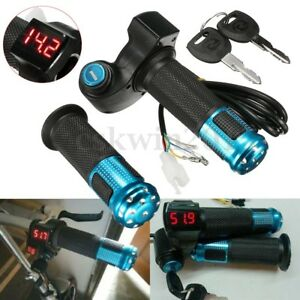 Bicicleta-Electrica-Throttle-Acelerador-LED-Digital-Para-Manillar-Grip
